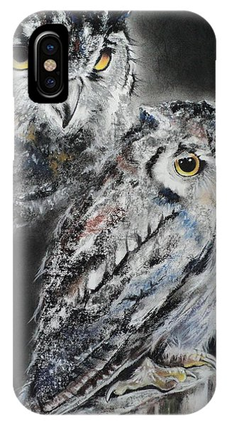 Noble Owl Guardian Of The Afterlife IPhone Case