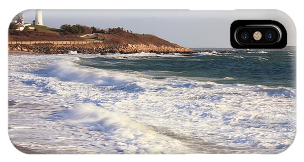 Nobska Point Seascape IPhone Case