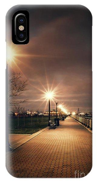 Desolation iPhone Case - Nocturnal by Evelina Kremsdorf
