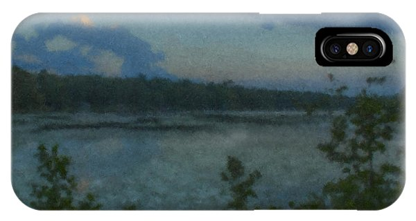 Nocturne At Ames Long Pond IPhone Case