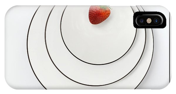Nonconcentric Strawberry No. 2 IPhone Case