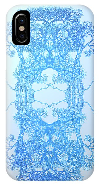 Nonphysical Me Tree 17 Hybrid 3 IPhone Case