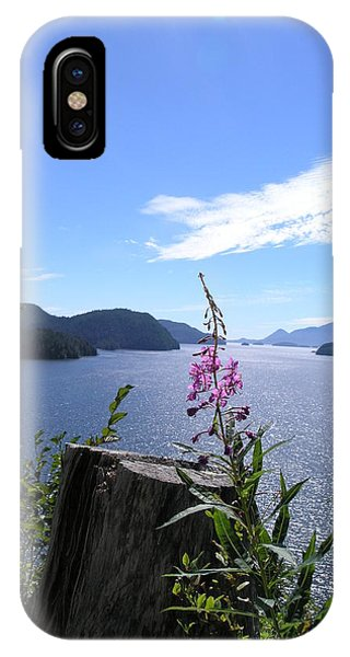 Flowers Of Nootka Sound IPhone Case