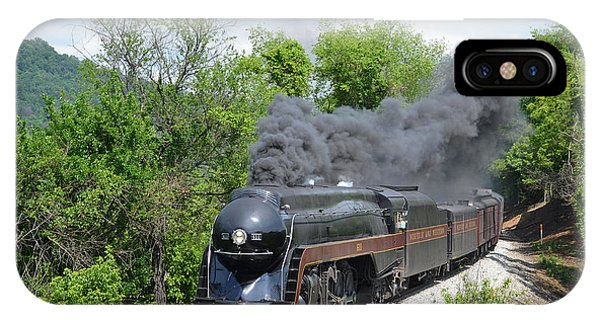 Norfolk And Western Class J #611 Phone Case by Steve Gass
