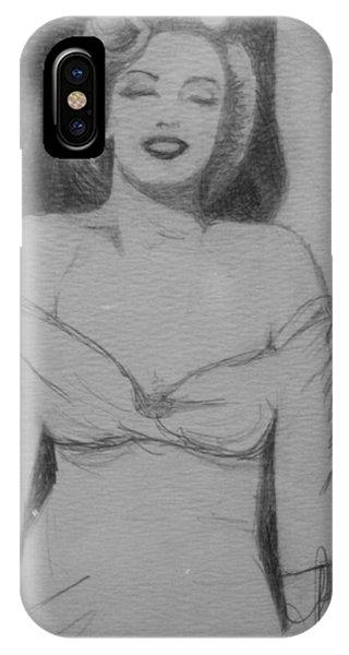 Norma Jean IPhone Case
