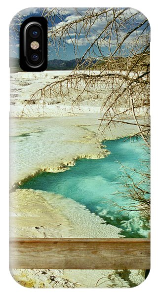 Norris Hot Spring IPhone Case