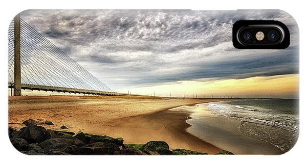 North Beach At Indian River Inlet IPhone Case