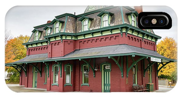 North Bennington Station IPhone Case