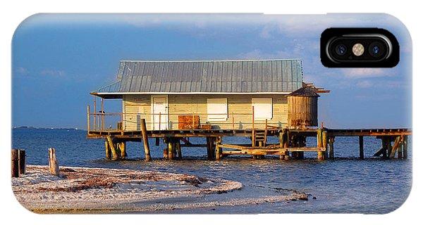 North Captiva Island Last Stilt House Standing IPhone Case