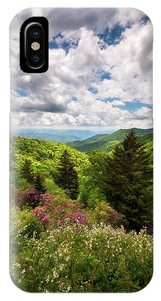North Carolina Blue Ridge Parkway Scenic Landscape Nc Appalachian Mountains IPhone Case