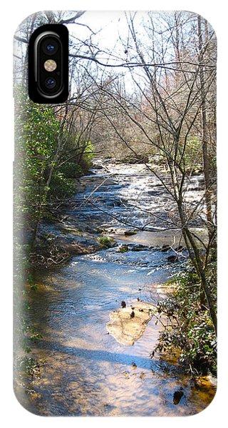 North Carolina Mountain Stream IPhone Case