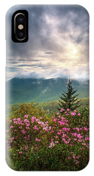 North Carolina Spring Flowers Blue Ridge Parkway Scenic Landscape Asheville Nc IPhone Case
