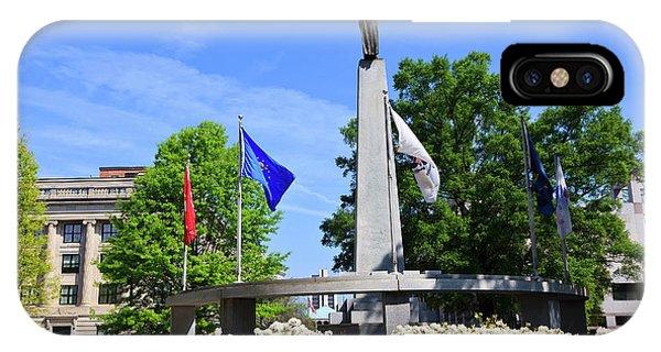 North Carolina Veterans Monument IPhone Case
