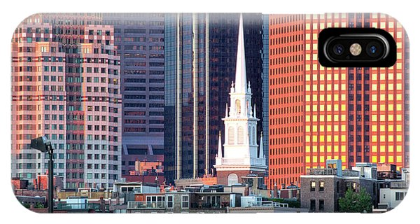 North Church Steeple IPhone Case