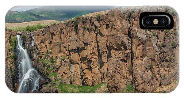 North Clear Creek Falls, Creede, Colorado 2 IPhone Case