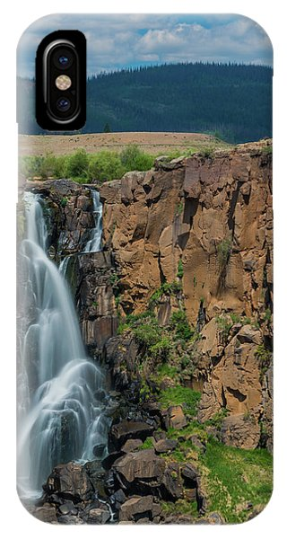 North Clear Creek Falls, Creede, Colorado IPhone Case