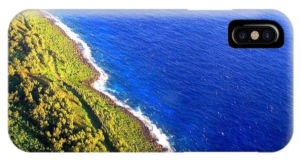 North Coast Of Tinian At Sunrise IPhone Case