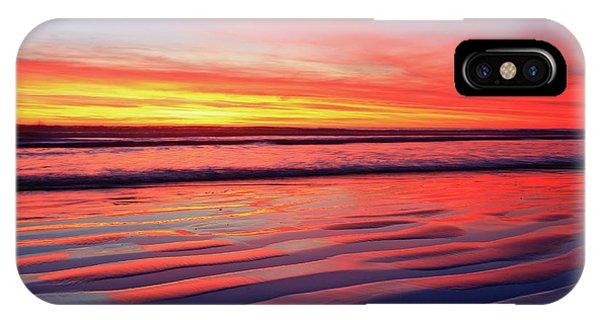Oceanside Sand Ripples IPhone Case