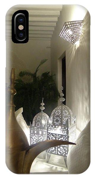 Exploramum iPhone Case - North - Eastern African Home - Lanterns And Jug by Exploramum Exploramum