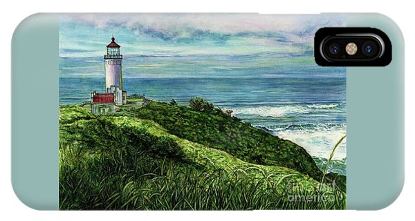 North Head Lighthouse And Beyond IPhone Case