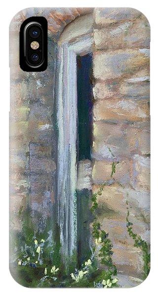 North Hill Alley Door IPhone Case