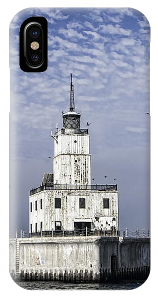 North Manitou Shoal Light IPhone Case