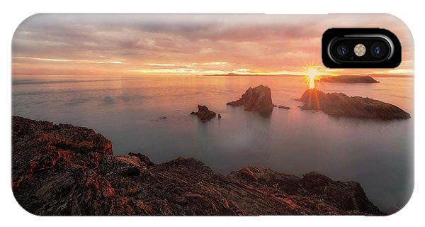 North Puget Sound Sunset IPhone Case
