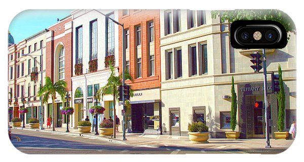 North Rodeo Drive IPhone Case