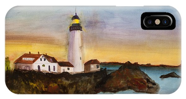 North Truro Light House Cape Cod IPhone Case