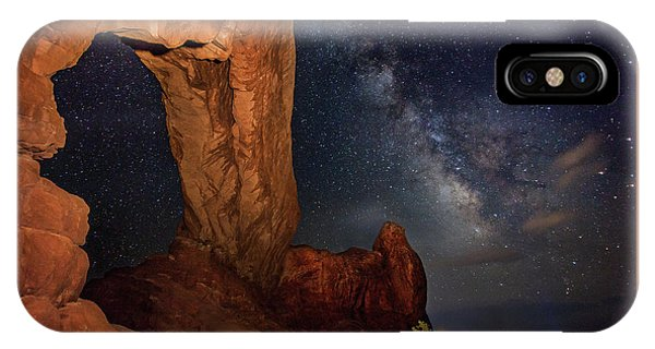 North Window And The Milky Way IPhone Case