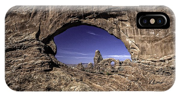 North Window, Arches IPhone Case