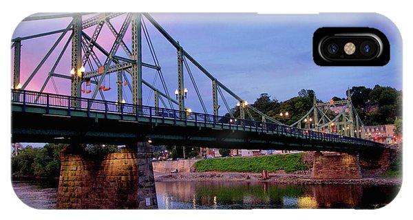 Northampton Street Bridge At Sunset IPhone Case