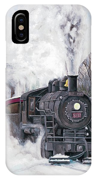 Northbound At 35 Below IPhone Case