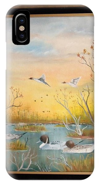 Northen Pintails IPhone Case