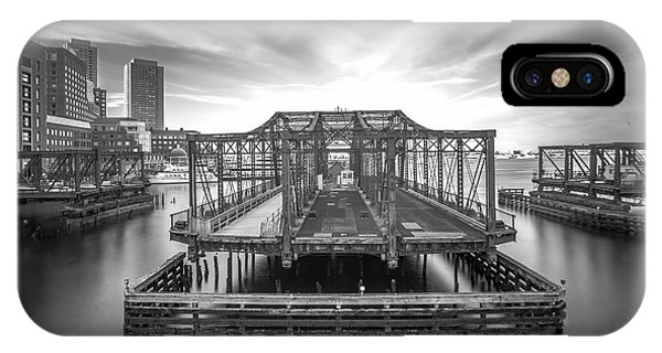 Northern Avenue Bridge IPhone Case