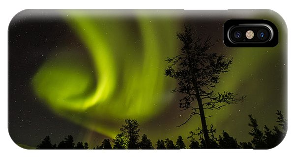 Northern Light In Finland IPhone Case