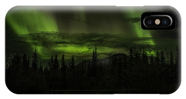 IPhone Case featuring the photograph Northern Lights by Fred Denner