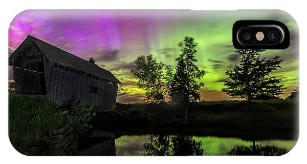Northern Lights Reflection IPhone Case