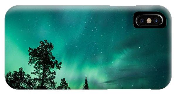 Northern Lights Tonight IPhone Case