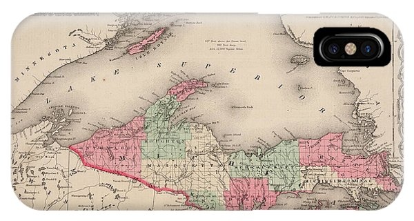Lake Superior iPhone Case - Northern Michigan And Lake Superior by Colton