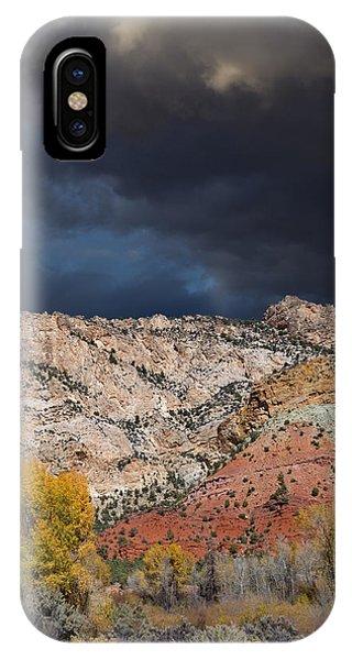 Northern Uintas Autumn IPhone Case