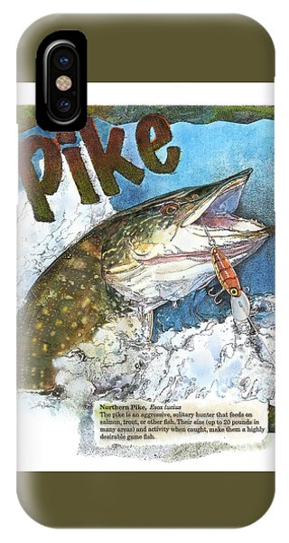 Northerrn Pike IPhone Case