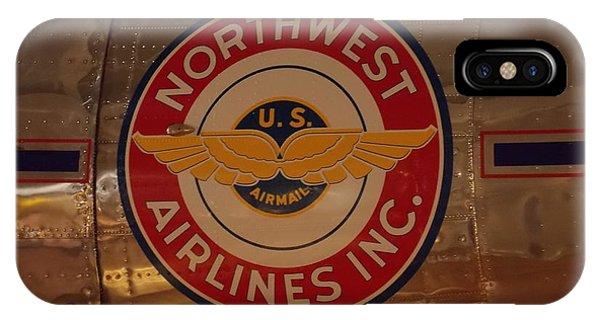 Northwest Airlines 1 IPhone Case