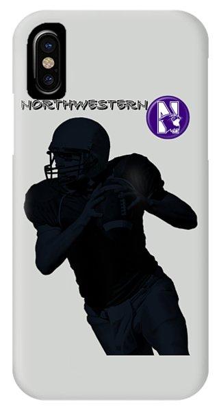 Northwestern Football IPhone Case