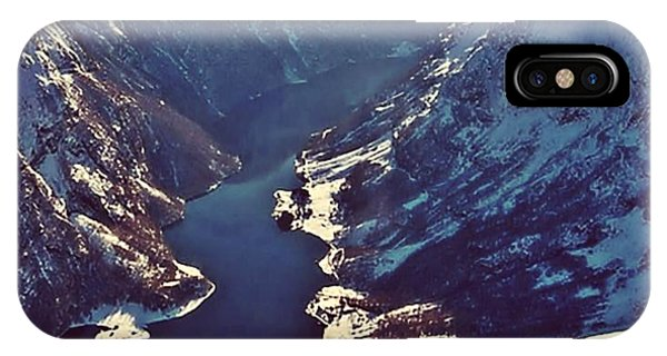 Norway Mountains IPhone Case
