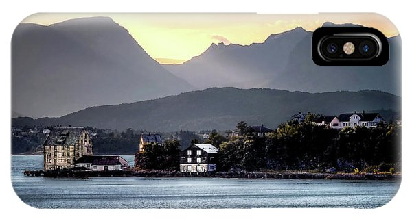 Norwegian Sunrise IPhone Case