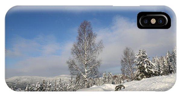 Norwegian Valley. IPhone Case