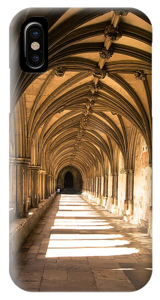 Norwich Cathedral Portico  IPhone Case