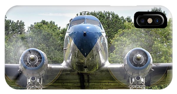 Nose To Nose With A Dc-3 IPhone Case