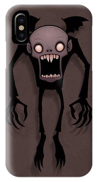 Bat iPhone Case - Nosferatu by John Schwegel